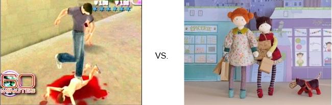 VideoGames vs ProSocial Toys